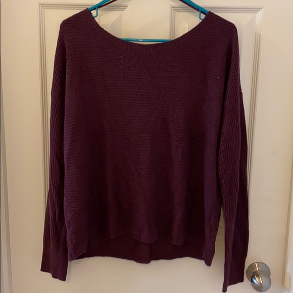 (2/$15) 💎 Garage Wide neck Sweater